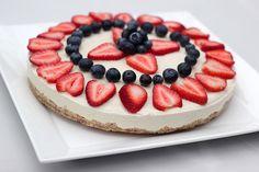"No-Bake Vegan ""Cheesecake"" - Gluten-free + Refined Sugar-free by Tasty Yummies"