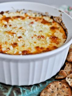 White pizza dip: use 2 bags 8 oz. Italian cheese blend in place of the Mozzarella and Provolone.