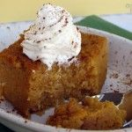Crock pot pumpkin pie pudding - use sugar substitute for the agave syrup and it's LC