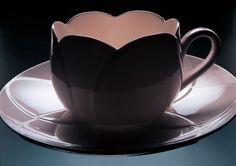 Tulip Teacup, designed by Dezsö Ekler for Alessi #Teacup #Tulip