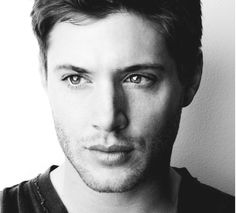 Jensen Ackles  because its a beautiful portrait