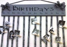 Birthday Board- craft ideas