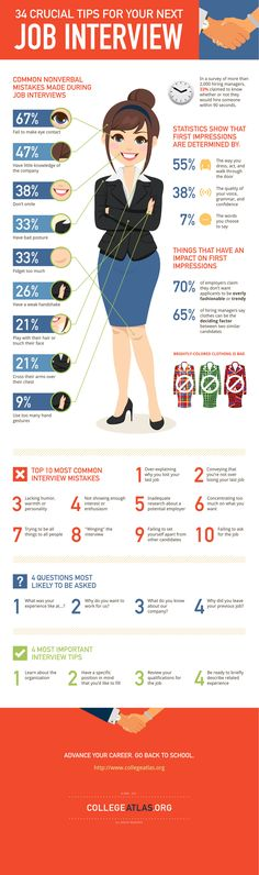 Tips for your next job interview