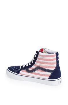 Love these Vans for a July 4th BBQ