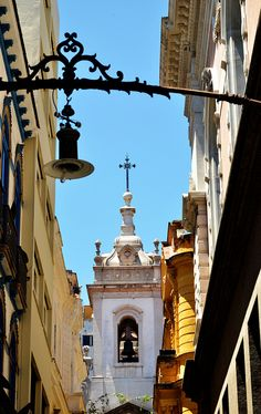 Igreja de Nossa Senhora da Lapa dos Mercadores by Rodrigo_Soldon, via Flickr - The Church of Nossa Senhora da Lapa Merchant located in the traditional Ouvidor Street, between Market and First streets in March, in the historic city and state of Rio de Janeiro, Brazil.