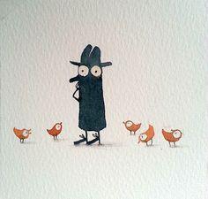 ilustración de Kasia Bajerowicz