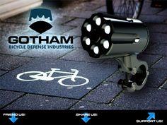 waterproof, theft-proof, perma-mount bike light