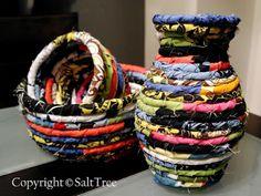 DIY Fabric Scrap Bowl