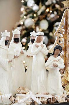 White Christmas Nativity