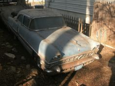 1956 Packard Patrician. Diamond in the rough.