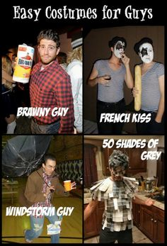 Easy costumes for guys!