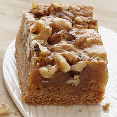 mapl walnut, cake mixes, walnut bar, yellow cakes