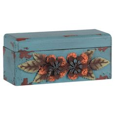 I pinned this Floral Decorative Box from the True Blue event at Joss and Main!