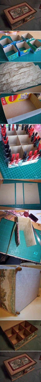 DIY organizer box
