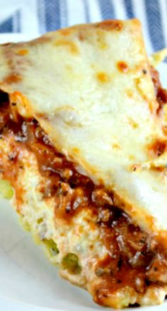 "Spaghetti Pie or What I Like to Call,""Out Of This World, Delicious Parmesan Garlic Angel Hair Pasta with Homemade Meat Sauce and Lasagna Topping!"