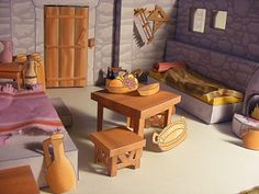 Bible time house.  All out of paper!!! Great site.