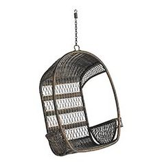 A hippy, happy and fun Pier 1 Outdoor Swingasan™ Chair