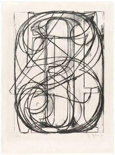 0 through 9 by Jasper Johns.