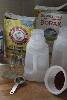 no grate no cook liquid laundry detergent