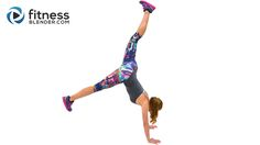 Butt and Thigh HIIT Cardio Workout to Banish Fat & Boost Energy - Fitness Blender