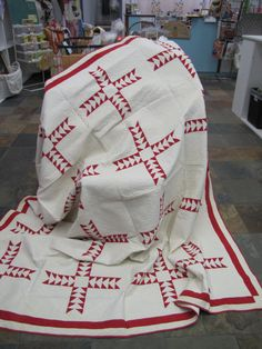 Red  White Quilt $795