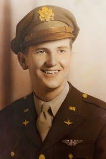 My father in his military uniform.