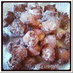 Applesauce Drop Doughnuts--Amazing!! I added a little cinnamon to the sugar mix that I rolled them in afterwards.