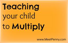 Autism: multiplication with skip counting