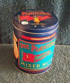Planters Mr Peanut Collectible Tin