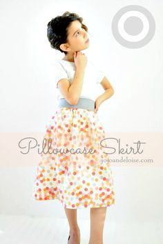 Diy- Pillowcase Skirt Tutorial