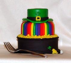 Amazing St Patricks Day cake. #cake #baking #irish #Saint #Patricks #SaintPatricks
