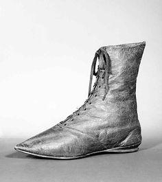 1795-1815 Ankle Boots-Leather-Eur / Met 2009.300.3511a–d