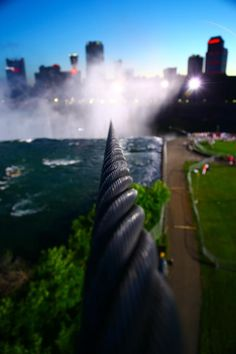 @BellaKidsofWNY Awesome photo of the high-wire over Niagara Falls via @billweirabc: http://pic.twitter.com/m59Krru9 #WalktheWire #walkin2history #WNY #BuffaloSummer  pic.twitter.com/m59Krru9
