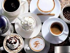 Coffee in many forms