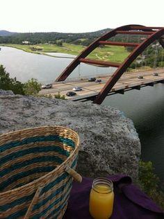 Pennybacker Bridge - Take a picnic and enjoy the views