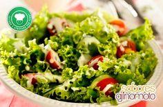 Salada com Molho de Iogurte e VONO