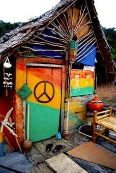 Hippie Beach Shack