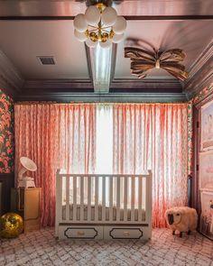This room is stunning! #pink #nursery