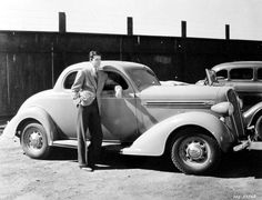 James Stewart & his Plymouth