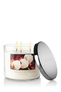 Marshmallow Fireside Candle