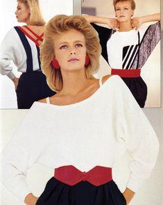 1980s Image from Harrods Fashion Catalogues.  Via Harrods.