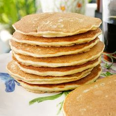 Quinoa Pancakes by Laura Friendly  (gluten & dairy free)