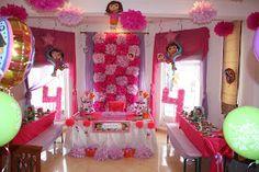 Over the Top Dora Birthday