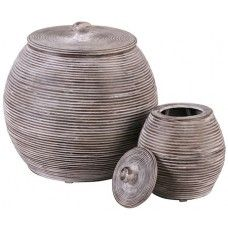 Bamboo Pot - Set of Two £69.99