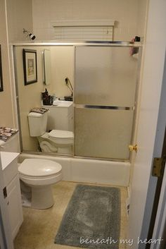 baths, slide shower, removing glass shower doors, cleanses, entry doors, slide door, sliding glass doors, kid bathrooms, sliding doors