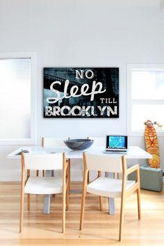 No Sleep Till Brooklyn Canvas Art - I seriously <3 it!