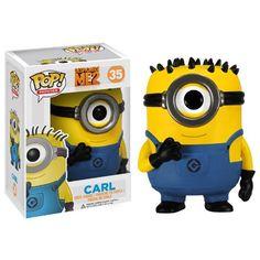 Amazon.com: Funko POP Movies Despicable Me: Carl Vinyl Figure: Toys & Games