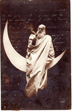 Man on the moon....