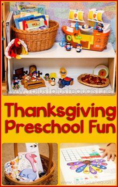 Thanksgiving Preschool from @{1plus1plus1} Carisa
