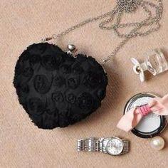 Heart Shaped Chain sweet lolita sling bag
